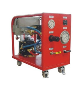Hydrostatic Pressure Test - Test Pac - Flutrol